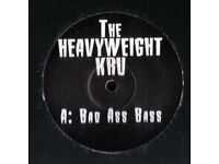 The Heavyweight Kru ‎– Bad Ass Bass 12''