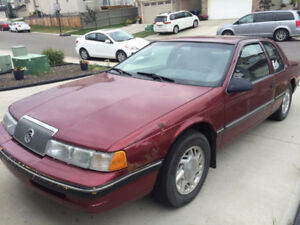 1990 Mercury Cougar LS Sedan