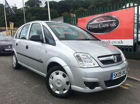 2009 (09 reg) Vauxhall Meriva 1.6 i 16v Life Easytronic 5dr MPV Petrol Automatic !