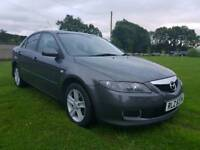 2006 MAZDA 6 DIESEL. 140 BHP . 6 SPEED..MOTED TO JUNE 2018..POSSIBLE PART EXCHANGE