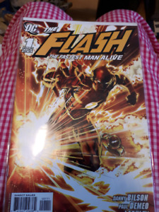 The flash 'the fastest man alive'