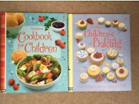 Children's cookbook and baking