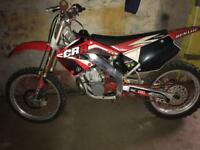 Honda CR250R (not kx, rm, rmz, yz) bike