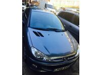 Peugeot 206 manual 2008 very law mileage full service history