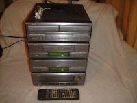 Denon UPA 110 Amp, CD player, Tuner, Twin Auto-Reverse Cassette player & remote