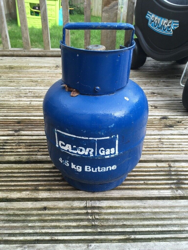 Double ring camping stove and grill and full 4.5kg calor bupane ...