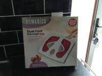 Homedics dual foot massager