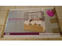 Used Hamster/Gerbil cage with Food and various toys