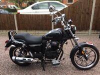 MOTORCYCLE 125 VIRTUALLY NEW