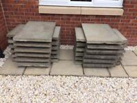 23 Used Concrete Slabs - £3 each