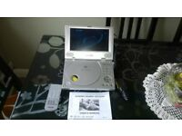 "PHILIPS 8"" headrest dvd player"