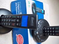 BT 2500 graphite digital cordless handsets and answer machine.