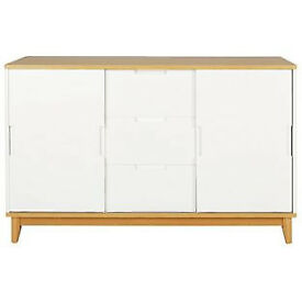 Skye 2 Door 3 Drawer Sideboard - White