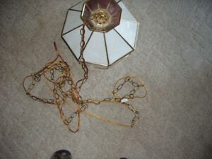 Swag light with chain for sale