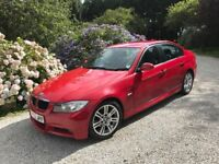 BMW 320d Msport monolo red