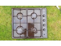 Homark gas hob with 4 burners and electric start