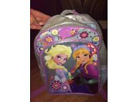 Frozen school bag and matching packed lunch