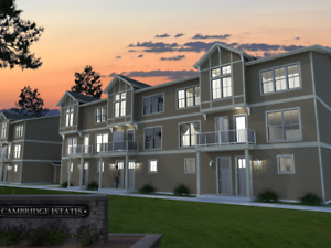 CAMBRIDGE ESTATES -1, 2 & 3 BEDROOM UNITS AVAIL FOR RENT IN AUG.