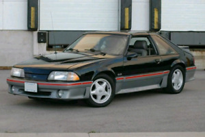 1987 Mustang GT with TTops