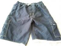 Long swim shorts size large