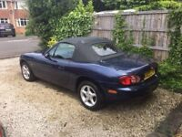 MX5 in the Classic and sort after blue. 11 months MOT and revent service