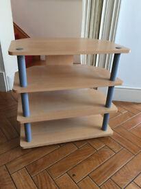 TV Stand - Beech wood effect