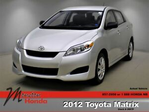 2012 Toyota Matrix Base (A4)