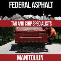 Federal Asphalt- Tar and chip specialists