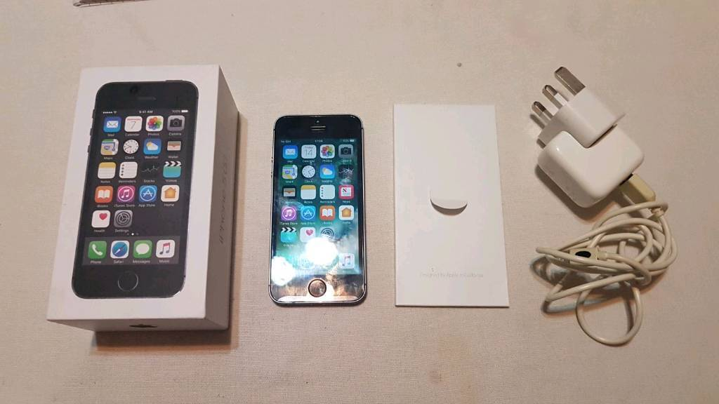 IPHONE 5S MINT ON 02 BOXED CHEAPin Halifax, West YorkshireGumtree - Hi here i have a iphone 5s 16gb mint condition on 02 network comes with box and charger. £125 o.n.oCOLLECTION FROM HALIFAXPLEASE CALL OR TEXT ON 07521877008 OR 07947278785