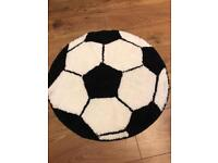 Football floor mat