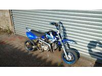 70cc child's motorbike