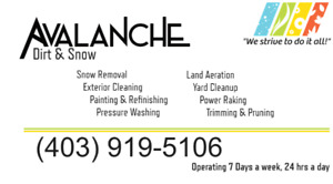 Landscaping, Excavation, Power Washing, Clean Up and More