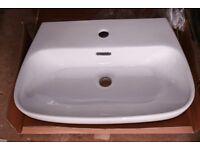 Unused Hand Basin in White