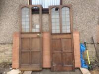 Oak doors gothic