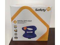 Safety 1st Blue Swivel Bath Seat **NEW**