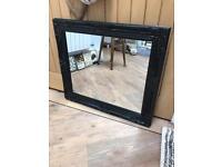 Lovely Black Framed Mirror