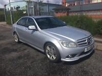 ***MERCEDES BENZ C200 KOMPRESSOR SATNAV+SPORTS+FULL LETHEARS***£3995!