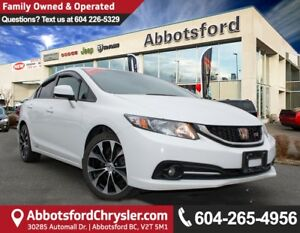 2013 Honda Civic Si Sporty & Fun to Drive!