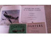 FREE - 3 vintage books about Second World war fighter planes