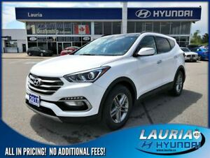 2017 Hyundai Santa Fe Sport 2.4L AWD SE Auto - Leather / Panoram