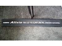 Shimano Alivio bx Carp Rod 2.75tc and Cloth Bag No2