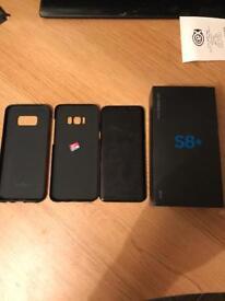 Samsung Galaxy S8 Plus 64GB + 32GB Card - Unlocked, Boxed (Mint condition)