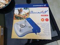 Camping stove, gas & table NEW
