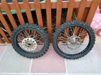Kawasaki kx250f wheels & tyres