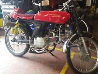 Honda SS50 Project Restoration Cafe Racer PX Swap UK delivery