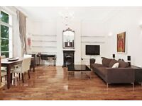 A gorgeous flat on the first floor of this period building with balcony furnished or unfurnished