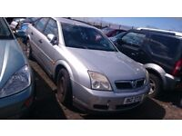 2005 VAUXHALL VECTRA LS, 2.0 DTI, BREAKING FOR PARTS ONLY, POSTAGE AVAILABLE NATIONWIDE