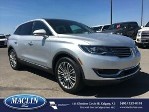 2016 Lincoln MKX, Panoroof, Hot/Cold Leather, Backup Cam