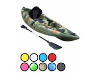 Bluefin Swift Single Fishing Kayaks Ideal for Sea, Lake and River Fishing only £299.00