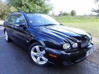 2009 Jaguar X Type 2.0d Sovereign 2009 5dr FJSH! Sat Nav! Low Miles! 5 door ...